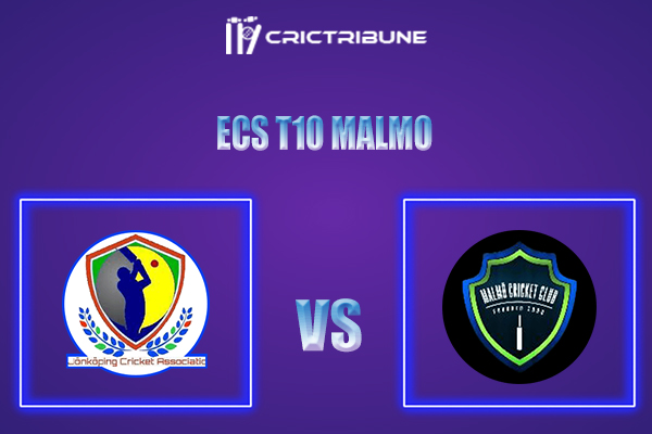 JKP vs MAL Live Score,In theMatchof ECS T10 Malmo 2021which will be played at Landskrona Cricket Club. JKP vs MAL Live Score,Match between Jonkoping.......