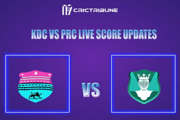 KDC vs PRC Live Score,In theMatchof Kerala Club Championship 2021which will be played at S. D. College Cricket Ground. KDC vs PRC Live Score,Match between.