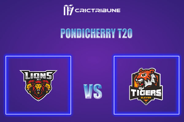 LIO vs TIG Live Score,In theMatchof Pondicherry T20which will be played at Cricket Association Puducherry Siechem Ground. LIO vs TIG Live Score,Match be...