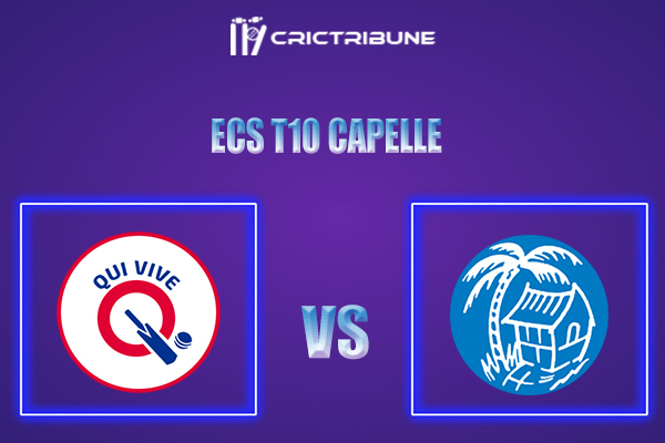 QUV vs KAM Live Score,In theMatchof ECS T10 Capelle 2021which will be played at Sportpark Bermweg, Capelle. QUV vs KAM Live Score,Match between Qui Vive...