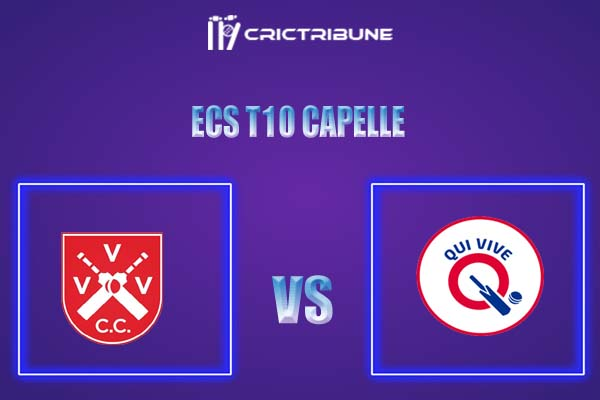 QUV vs VVV Live Score,In theMatchof ECS T10 Capelle 2021which will be played at Sportpark Bermweg, Capelle. QUV vs VVV Live Score,Match between Qui........