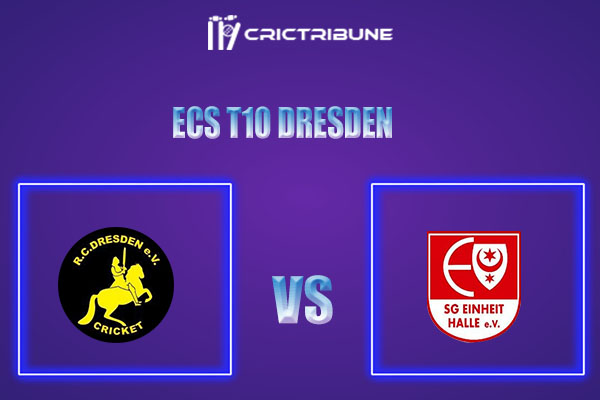 RCD vs EIH Live Score,In theMatchof ECS T10 Dresden 2021which will be played at Rugby Cricket Dresden eV, Dresden. RCD vs EIH Live Score,Match between RC ..