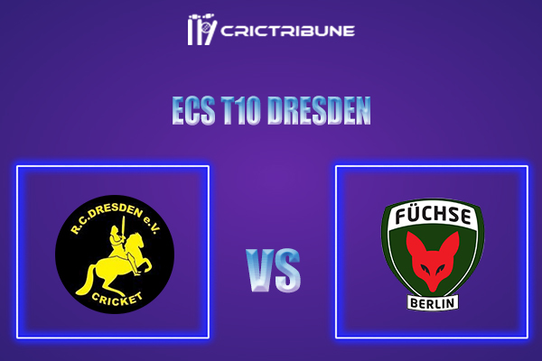 RCD vs FBL Live Score,In theMatchof ECS T10 Dresden 2021which will be played at Rugby Cricket Dresden eV, Dresden. RCD vs FBL Live Score,Match between.....