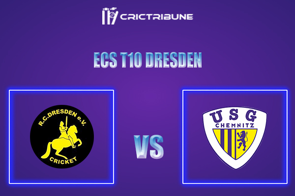 RCD vs USGC Live Score,In theMatchof ECS T10 Dresden 2021which will be played at Rugby Cricket Dresden eV, Dresden. RCD vs USGC Live Score,Match between...