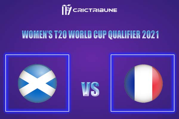 SC-W vs FR-W Live Score,In theMatchof Women's T20 World Cup Qualifier,which will be played at La Manga Club, Cartagenan. SC-W vs FR-W Live Score,Match.....