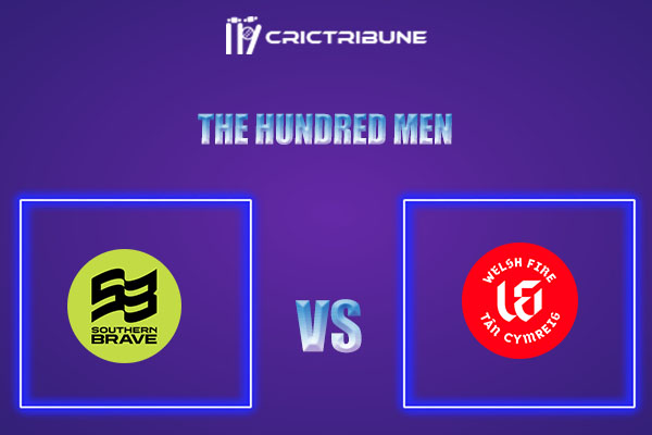 SOB vs WEF Live Score,In theMatchof The Hundred Men which will be played at Old Trafford, Manchester. SOB vs WEF Live Score,Match between Southern Brave Men