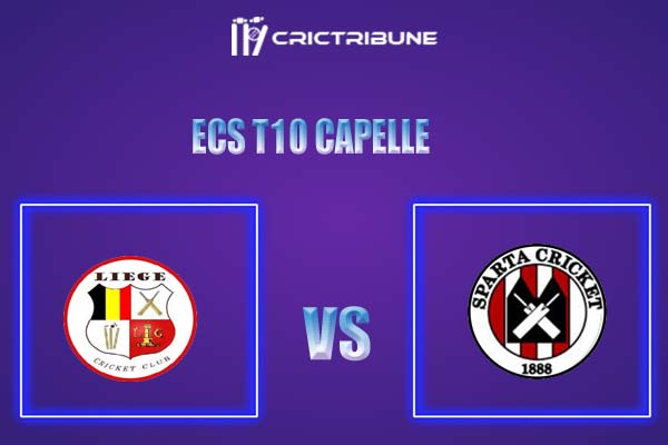 SPC vs LIE Live Score,In theMatchof ECS T10 Capelle 2021which will be played at Sportpark Bermweg, Capelle. SPC vs LIE Live Score,Match between Sparta 1888