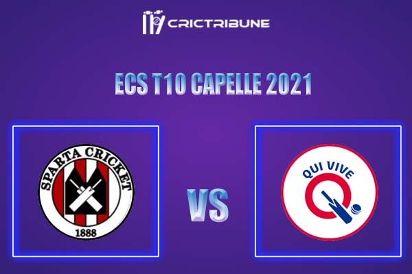 SPC vs QUV Live Score,In theMatchof ECS T10 Capelle 2021which will be played at Sportpark Bermweg, Capelle. SPC vs QUV Live Score,Match between Sparta.....