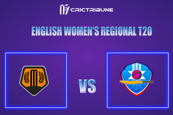 SV vs SES Live Score,In theMatchof English Women's Regional T20 which will be played at St Lawrence, Canterbury. SV vs SES Live Score,Match between Southern