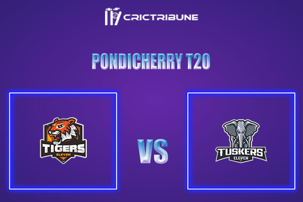 TIG vs TUS Live Score,In theMatchof Pondicherry T20which will be played at Cricket Association Puducherry Siechem Ground. TIG vs TUS Live Score,Match be...