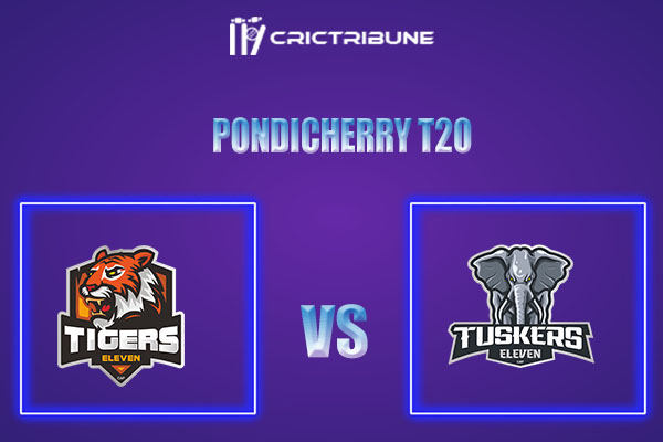 TIG vs TUS Live Score,In theMatchof Pondicherry T20which will be played at Cricket Association Puducherry Siechem Ground. TIG vs TUS Live Score,Match betw.