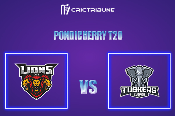 TUS vs LIO Live Score,In theMatchof Pondicherry T20which will be played at Cricket Association Puducherry Siechem Ground. TUS vs LIO Live Score,Match be...