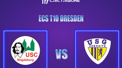 USCM vs USGC Live Score,In theMatchof ECS T10 Dresden 2021which will be played at Rugby Cricket Dresden eV, Dresden. USCM vs USGC Live Score,Match between.