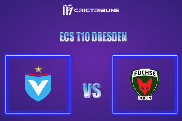 VIK vs FBL Live Score,In theMatchof ECS T10 Dresden 2021which will be played at Rugby Cricket Dresden eV, Dresden. VIK vs FBL Live Score,Match between .....