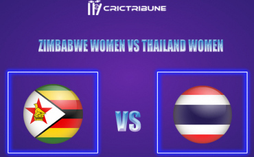 ZM-W vs TL-W Live Score,In theMatchof Zimbabwe Women vs Thailand Women,which will be played at Takashinga Sports Club.. ZM-W vs TL-W Live Score,Match be...