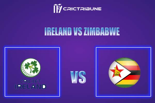 IRE vs ZIM Live Score,In theMatchof Ireland vs Zimbabwe T20,which will be played at Bready Cricket Club, Magheramason, Bready. IRE vs ZIM Live Score,Match ,