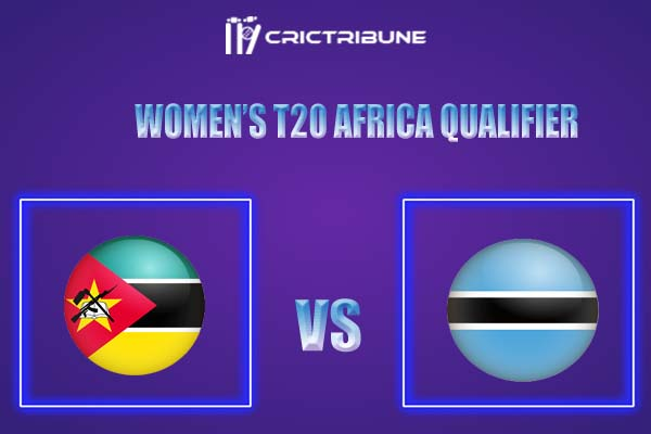 BOT-W vs MOZ-W Live Score,In theMatchof Women's T20 Africa Qualifier,which will be played at Botswana Cricket Association Oval 1, Gaborone. BOT-W vs MOZ-W..