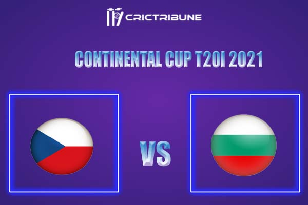 BUL vs CZR Live Score,In theMatchof Continental Cup T20I 2021,which will be played at Moara Vlasiei Cricket Ground. BUL vs CZR Live Score,Match between....