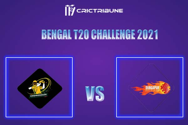 DD vs KC Live Score,In theMatchof Bengal T20 Challenge 2021,which will be played at Eden Gardens, Kolkata. DD vs KC Live Score,Match between Durgapu.......