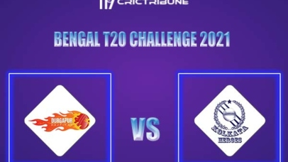 DD vs KH Live Score,In theMatchof Bengal T20 Challenge 2021,which will be played at Eden Gardens, Kolkata. DD vs KH Live Score,Match between Durgapur......