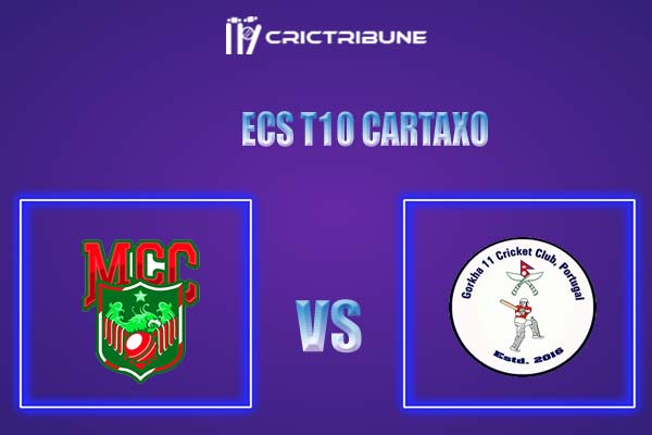 GOR vs MAL Live Score,In theMatchof ECS T10 Cartaxo,which will be played at Cartaxo Cricket Ground, Cartaxo. GOR vs MAL Live Score,Match between ...........