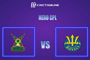 BR vs GUY Live Score,In theMatchof Hero CPL,which will be played at Warner Park, Basseterre, St Kitts. BR vs GUY Live Score,Match between Guyana Amazo.....