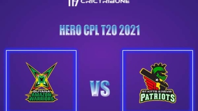 GUY vs SKN Live Score,In theMatchof Hero CPL,which will be played at Warner Park, Basseterre, St Kitts. GUY vs SKN Live Score,Match between Guyana.........