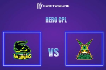 GUY vs JAM Live Score,In theMatchof Hero CPL,which will be played at Warner Park, Basseterre, St Kitts. GUY vs JAM Live Score,Match between Guyana Amazo...