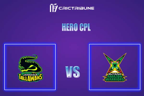 JAM vs GUY Live Score,In theMatchof Hero CPL,which will be played at Warner Park, Basseterre, St Kitts. JAM vs GUY Live Score,Match between Guyana Amazon..