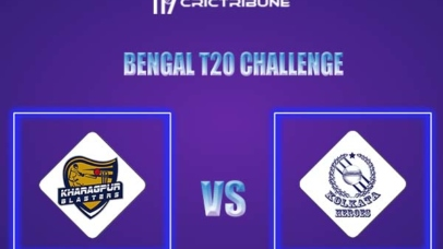 KB vs KH Live Score,In theMatchof Bengal T20 Challenge 2021,which will be played at Eden Gardens, Kolkata. KB vs KH Live Score,Match between Kolkata.......
