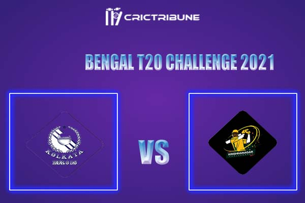 KC vs KH Live Score,In theMatchof Bengal T20 Challenge 2021,which will be played at Eden Gardens, Kolkata. KC vs KH Live Score,Match between Krishnanagar..