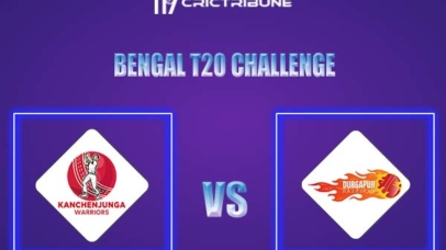 KW vs DD Live Score,In theMatchof Bengal T20 Challenge 2021,which will be played at Eden Gardens, Kolkata. KW vs DD Live Score,Match between Kanchenjunga..