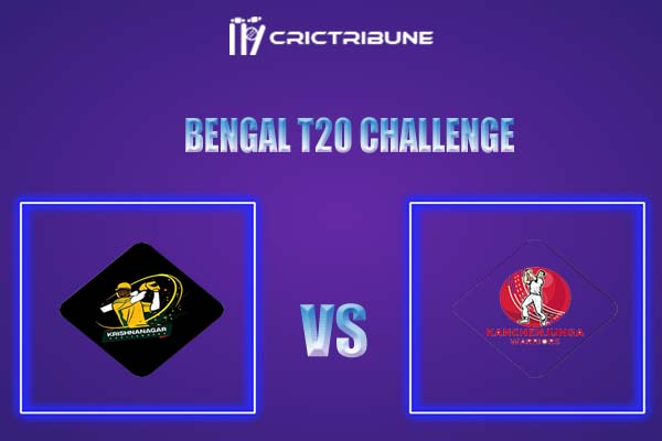 KW vs KC Live Score,In theMatchof Bengal T20 Challenge 2021,which will be played at Eden Gardens, Kolkata. KW vs KC Live Score,Match between Kanchenjunga..