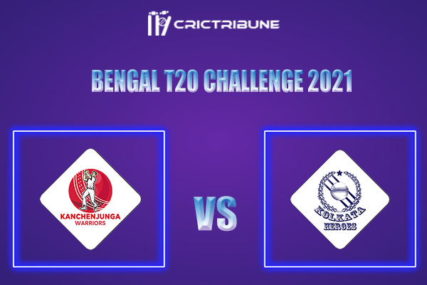 KW vs KH Live Score,In theMatchof Bengal T20 Challenge 2021which will be played at Eden Gardens.KW vs KH Live Score,Match between Kanchenjunga Warriors...