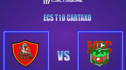MAL vs CK Live Score,In theMatchof ECS T10 Cartaxo,which will be played at Cartaxo Cricket Ground, Cartaxo. MAL vs CK Live Score,Match between Malo vs .....