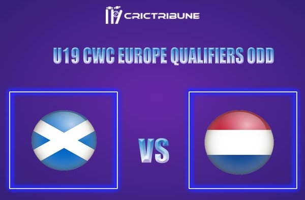 NED-Y vs SCO-Y Live Score,In theMatchof U19 CWC Europe Qualifiers ODD tournament 2021,which will be played at Hong Kong Cricket Club, Wong Nai Chung ........