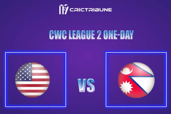 NEP vs USA Live Score,In theMatchof CWC League 2 One-Daywhich will be played at Al Amerat Cricket Ground (Ministry Turf 2), Al Amerat. NEP vs USA Live Score