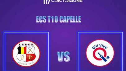 QUV vs LIE Live Score,In theMatchof ECS T10 Capelle 2021which will be played at Sportpark Bermweg, Capelle. QUV vs LIE Live Score,Match between Qui........
