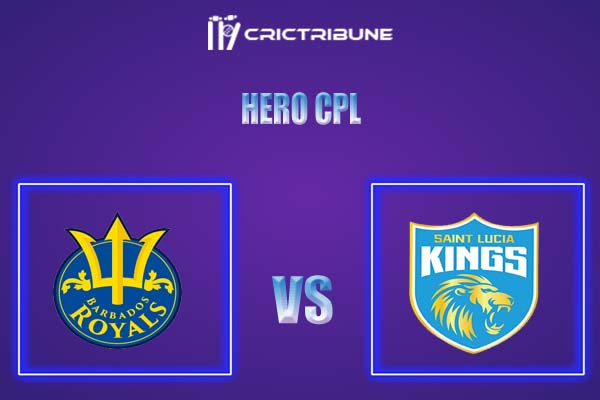 SLK vs BR Live Score,In theMatchof Hero CPL,which will be played at Warner Park, Basseterre, St Kitts. SLK vs BR Live Score,Match between Barbados Royals..