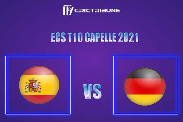 SPA vs GER Live Score,In theMatchof Spain vs Germanywhich will be played at Desert Springs Cricket Ground, Arizona. SPA vs GER Live Score,Match between....