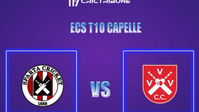 SPC vs VVV Live Score,In theMatchof ECS T10 Capelle 2021which will be played at Sportpark Bermweg, Capelle. SPC vs VVV Live Score,Match between Sparta .....