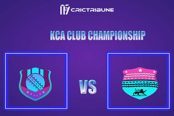 TRC vs PRC Live Score,In theMatchof Kerala Club Championship 2021which will be played at S. D. College Cricket Ground. TRC vs PRC Live Score,Match between .