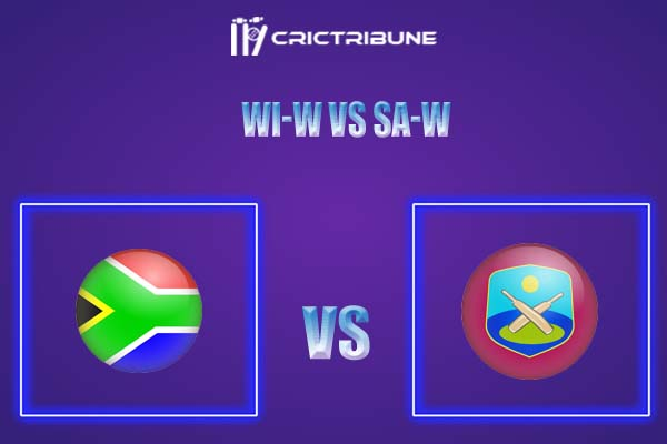 WI-W vs SA-W Live Score,In theMatchof West Indies Women vs South Africa Women,which will be played at Sir Vivian Richards Stadium, North Sound,.............