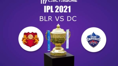BLR vs DC Live Score,In theMatchof VIVO IPL 2021which will be played at Sheikh Zayed Stadium, Abu Dhabi. BLR vs DC Live Score,Match between Royal Challenge