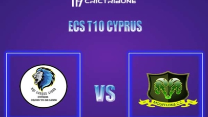 CYM vs SLL Live Score,In theMatchof ECS T10 Cyprus 2021,which will be played at Limassol. CYM vs SLL Live Score,Match between Cyprus Moufflons CC vs Sri...