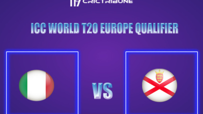 ITA vs JER Live Score,In theMatchof ICC World T20 Europe Qualifier,which will be played at Desert Springs Cricket Ground, Almeriar., Perth. ITA vs JER Live.