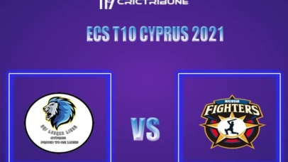NFCC vs SLL Live Score,In theMatchof ECS T10 Cyprus 2021,which will be played at Limassol. NFCC vs SLL Live Score,Match between Nicosia XI Fighters CC vs ..