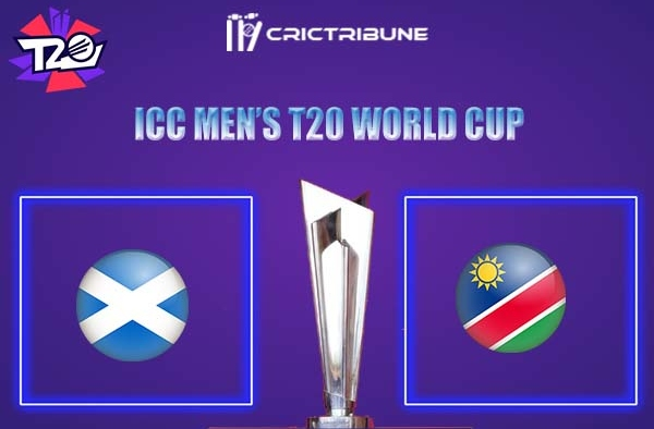 SCO vs NAM Live Score,In theMatchof ICC Men's T20 World Cup 2021.which will be played at Dubai International Cricket Stadium, Dubai. SCO vs NAM Live Scor....
